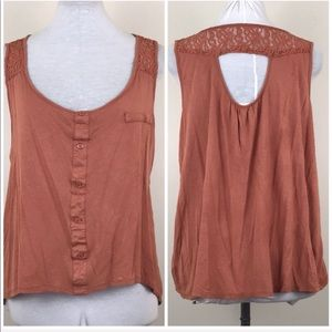Anthropologie E hanger M Sleeveless Tank Top
